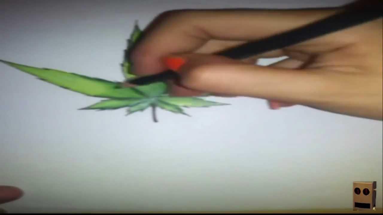 SpeedArt  Hoja de Weed  Dubstep  YouTube