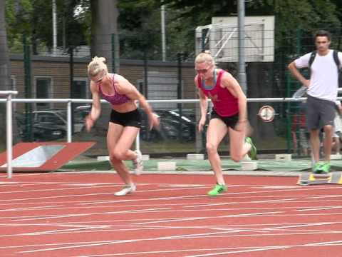 19 july rep 2 40m melissa breen with sally pearson going for Küchenzeile 2 40m