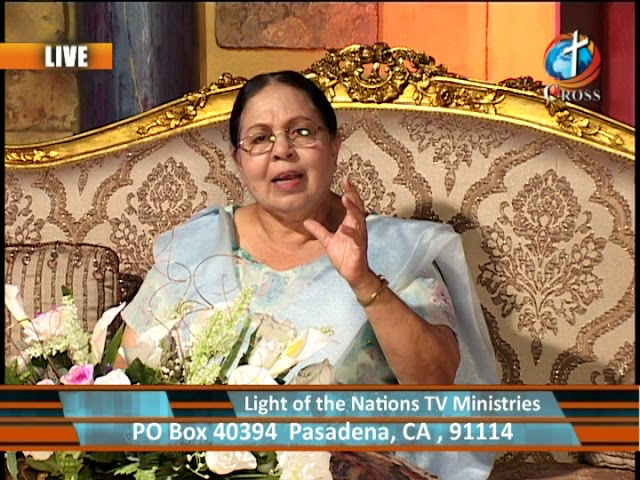 The Light of the Nations  Rev. Dr. Shalini Pallil Indian 07-09-2018