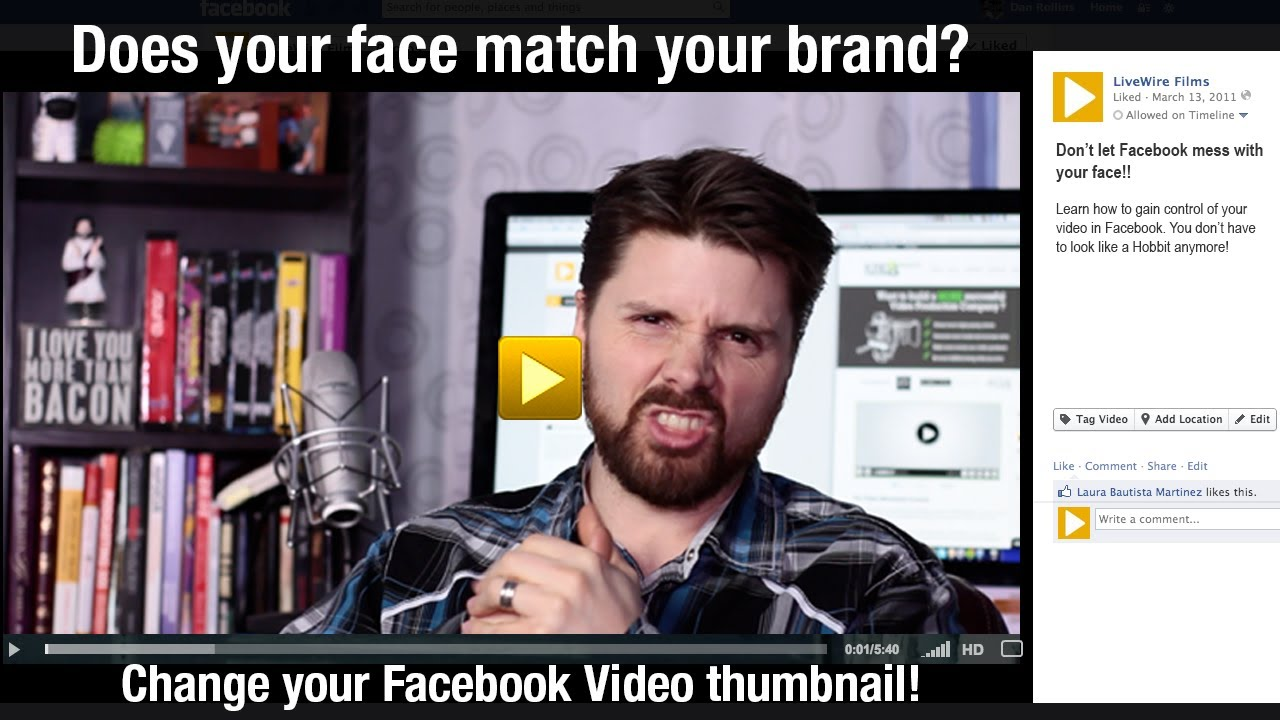 how to get facebook video thumbnail