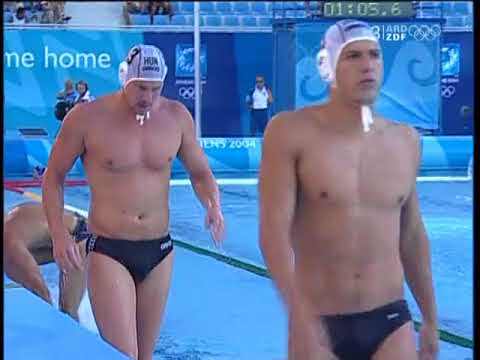 Hungary Water Polo v. Russia Water Polo 2004 Athens Olympics Semi Final