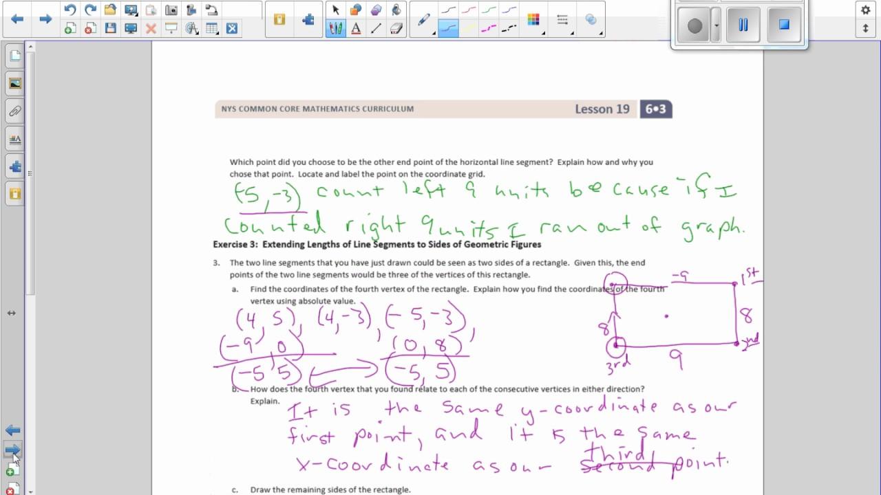 Worksheet Math 6 math 6 module 3 lesson 19 video youtube video