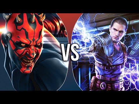 VS | Darth Maul vs Galen Marek