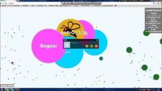 Agar.io - Skype fail + EPIC WIN !!