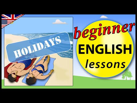 Holidays in English | Beginner English Lessons for Children