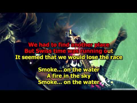 Smoke On The Water -  (HD Karaoke) Deep Purple