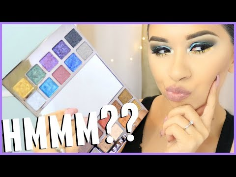 URBAN DECAY HEAVY METALS METALLIC PALETTE | LET'S TRY IT OUT!