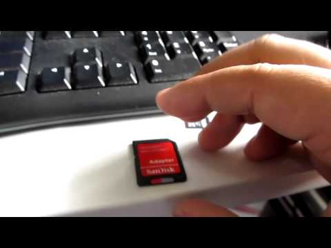 SanDisk Ultra 32GB microSDHC UHS-I Card w/ Adapter (custer size wrong please format)из YouTube · Длительность: 3 мин19 с