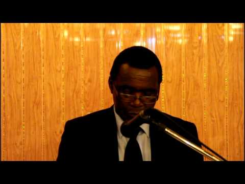 Speech by The Minister of Local Government, Public Works and National Housing