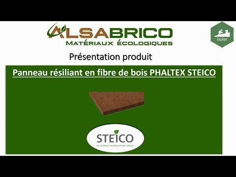 Steico Phaltex Panneau Résiliant En Fibre De Bois