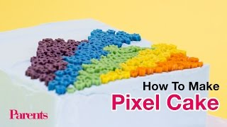 How to Make a Pixel Cake | Parents