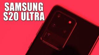 Samsung Galaxy S20 Ultra Топовый смартфон за дорого