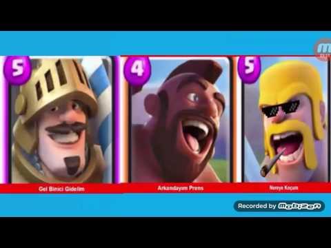 Clash Royale Komik Caps (1.bölüm)