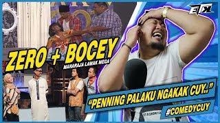 PALING NGAKAK..!!! 😂 ZERO + BOCEY - Maharaja Lawak Mega | REACTION
