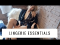 Top 5 Lingerie Essentials   Aja Dang