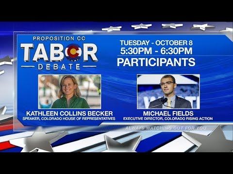 The Proposition CC Debate: The Future For Colorado's TABOR