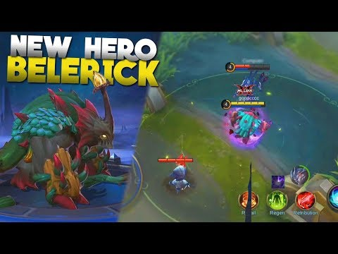 NEW HERO Belerick Gameplay + All Skills Explained Mobile Legends