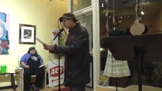 Ghost Town Poetry Open Mic 1-14-16 Video 3