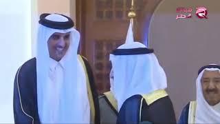أملا في حل الأزمة .. تميم يلجأ إلى الكويت