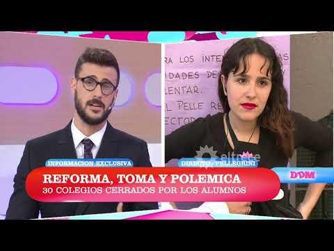 Reforma, toma y polémica: debate y planteo de la postura de los alumnos del Pellegrini