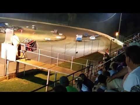 Lake Cumberland Speedway grassroots hobby stock heat 1 part 1 6/29/19