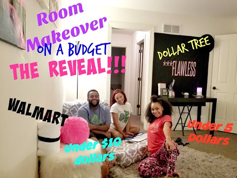 Room Makeover on a Budget Part 2.| The Reveal | Sunjai
