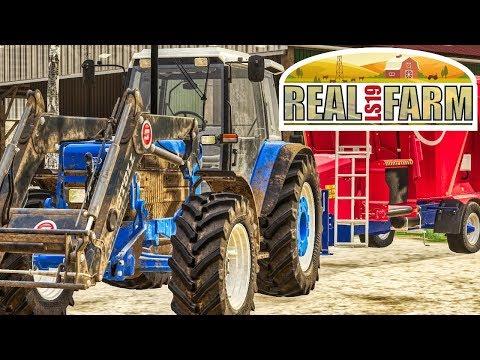 LS19 Real Farm #37 - WINTERANBRUCH! Tierversorgung steht an erster Stelle | Farming Simulator 19