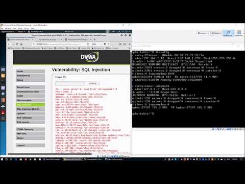SQL Injection with SQLMAP interactive shell (Cybersecurity)