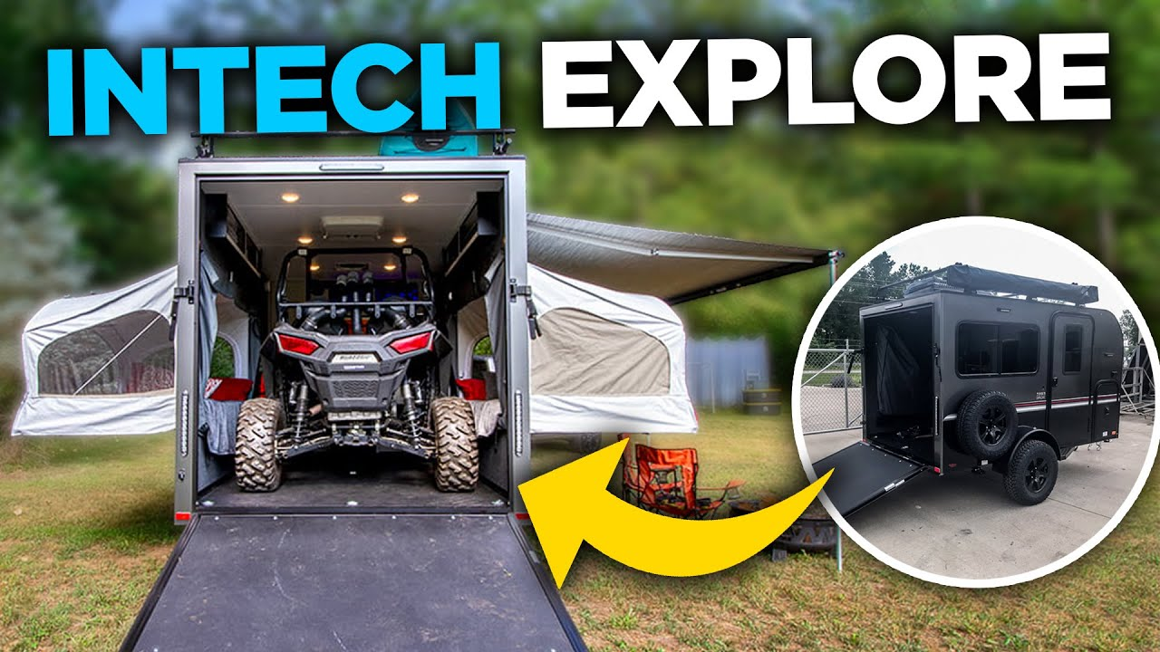 Multi-Purpose Camping Trailer That DOES IT ALL!