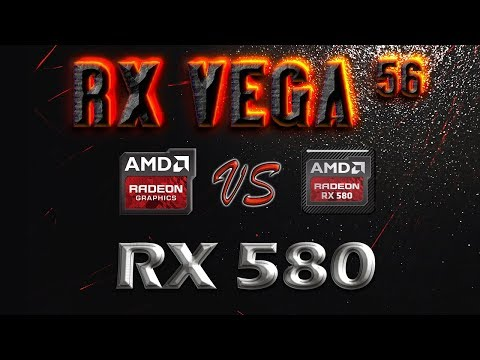 Rx Vega 56 Vs Rx 580 Benchmarks 35 Game Tests Performance Review 1080p 1440p 4k Youtube