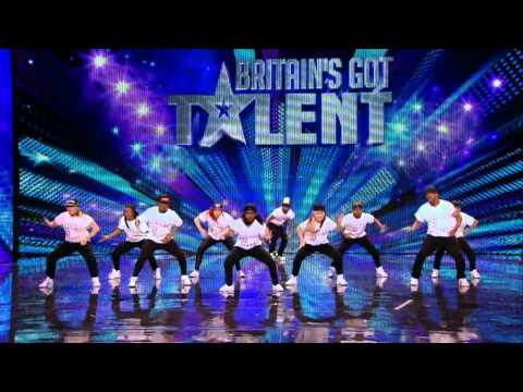 Dance troupe United We Stand - Britains Got Talent 2012 audition - International version