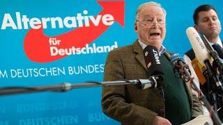 Gauland echauffiert sich über Angriff auf Bremer AfD-Vorsitzenden