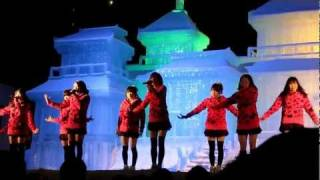 北海道のローカルアイドルグループ 家を出るときは吹雪に-7、撮影どこ...