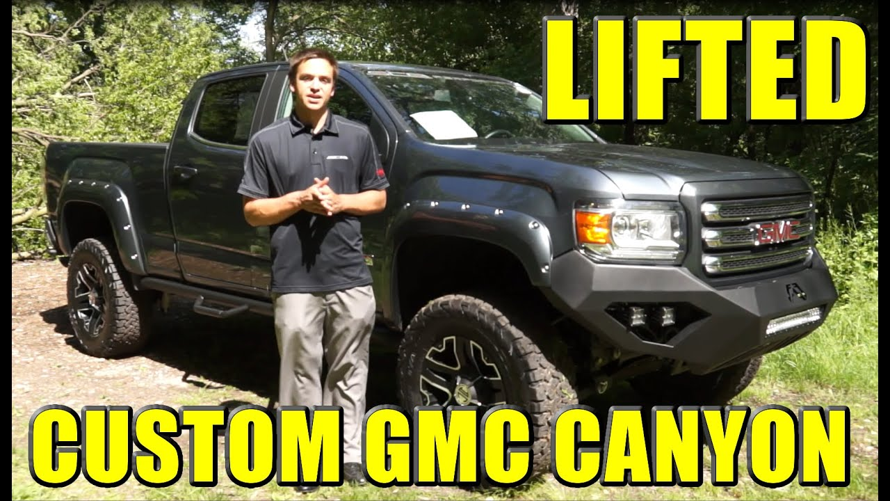 "Lifted Chevy Colorado >> LIFTED GMC CANYON!! Fab Fours Bumpers, 5.5"" Lift, check ..."