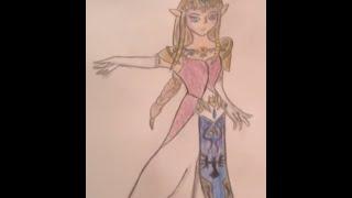 zelda drawings draw drawing legend
