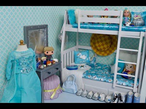 Setting Up American Girl Loft Beds ~ Bunk Bed Bedroom & Wardrobe Closet!