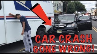 WORLDS CRAZIEST CAR ACCIDENT OF MY LIFE!? (COPS CALLED)
