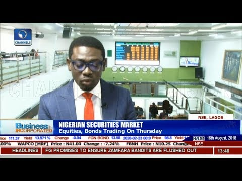 Update On Thursday's Equities, Bonds Trading |Business Incorporated|