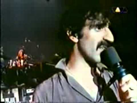 Frank Zappa - Bobby Brown (Goes Down) Music Video