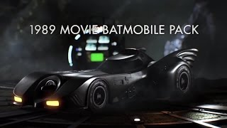 Batman Arkham Knight - 1989 Movie Batmobile Pack Trailer (August 2015 Update) | Official Batman Game