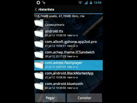 Como ponerle flash player al LG OPTIMUS HUB