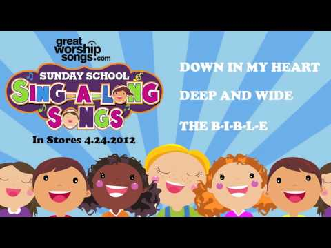 The BIBLE  Sunday School SingALong Songs