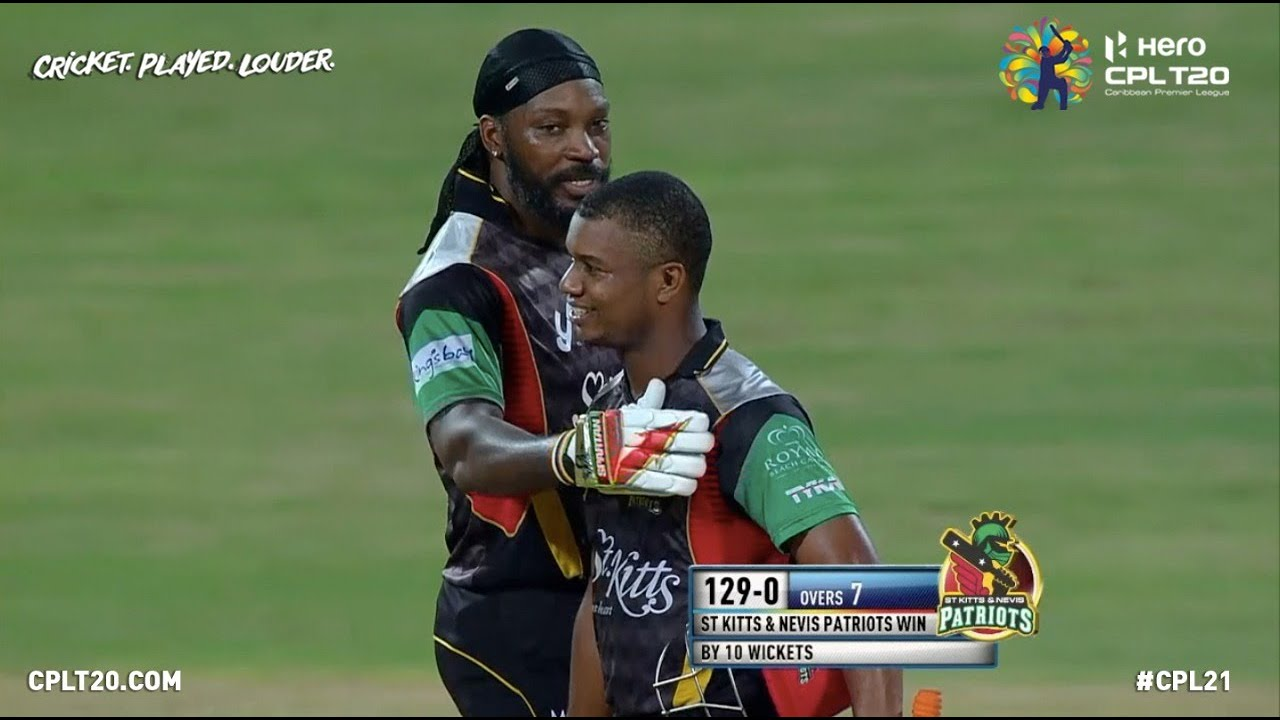 Download Record Breakers! Chris Gayle & Evin Lewis chase down 129 runs in just 7 overs! | CPL 2017