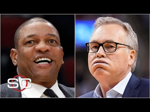 Woj details how Doc Rivers jumped past Mike D'Antoni for the 76ers job   SportsCenter