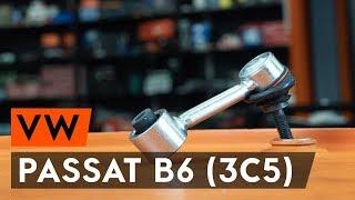 Remplacer Biellette stabilisatrice arrière et avant VW BORA 2019 - instructions vidéo