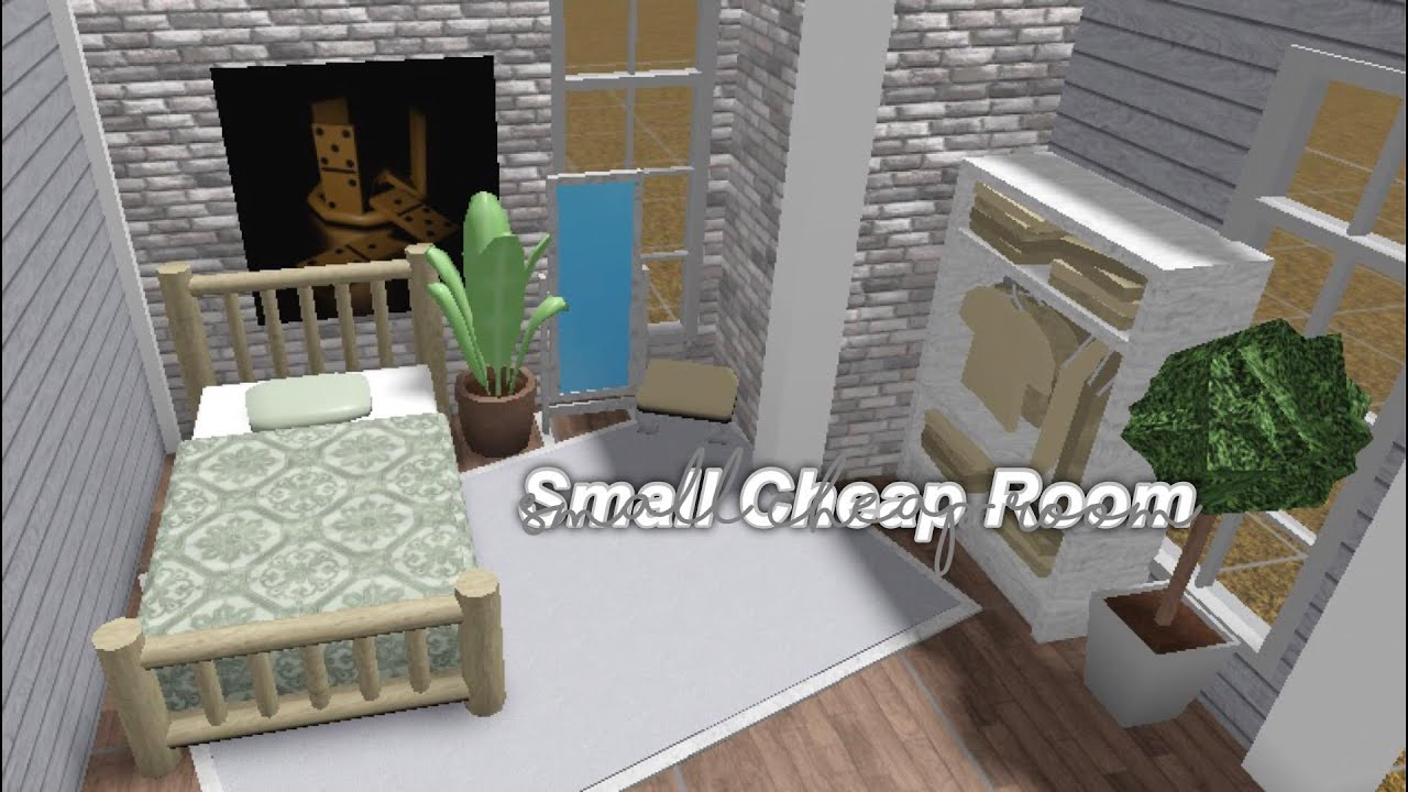 Small Bloxburg Room For 3k! - YouTube