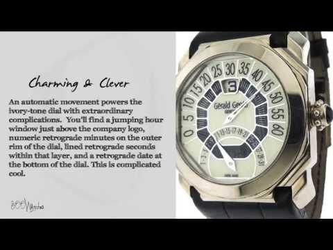 View This Gerald Genta Octo Bi-Retro White Gold Calendar Watch