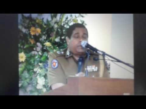 Surath Chamara Widanapathirana - A Farewell Speech - Police Office, Colombo, Sri Lanka.( Part 6 )