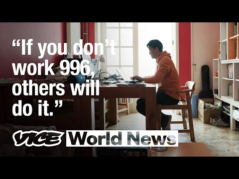 The Extreme 996 Work Culture in China