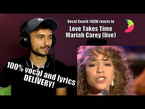 Vocal Coach YAZIK Reacts To Mariah Carey - Love Takes Time (Stockholm 1990)